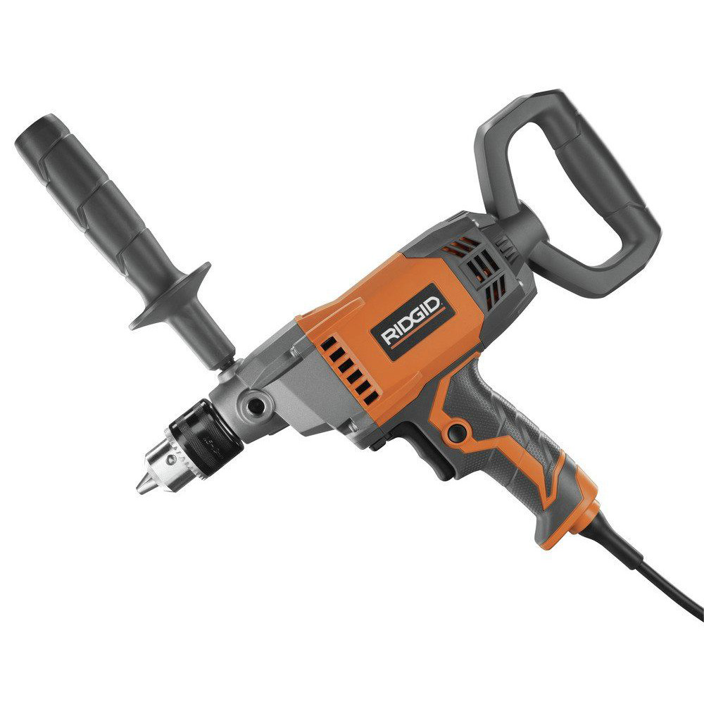 Ridgid-9-0-Amp-1-2-in-Spade-Handle-Mud-Mixing-Drill-R7122-Recon thumbnail 2