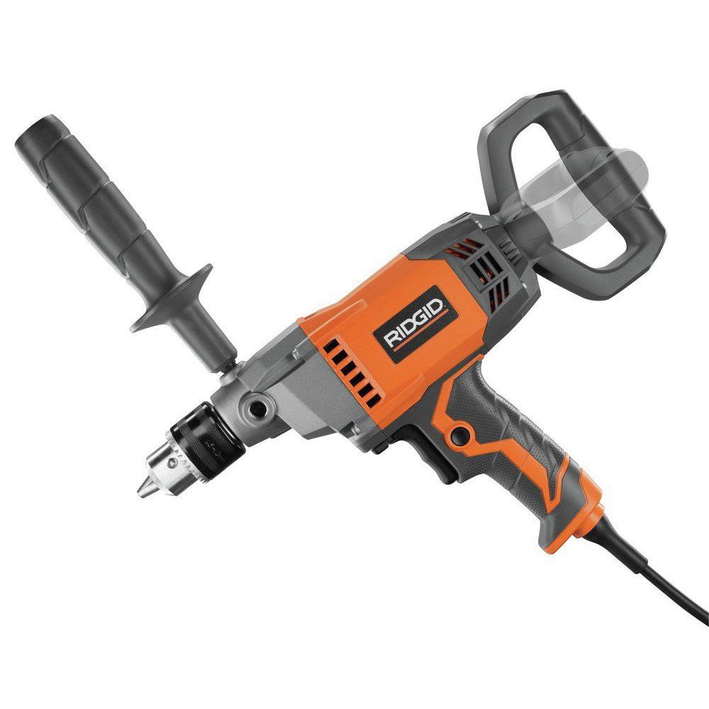 Ridgid-9-0-Amp-1-2-in-Spade-Handle-Mud-Mixing-Drill-R7122-Recon thumbnail 3