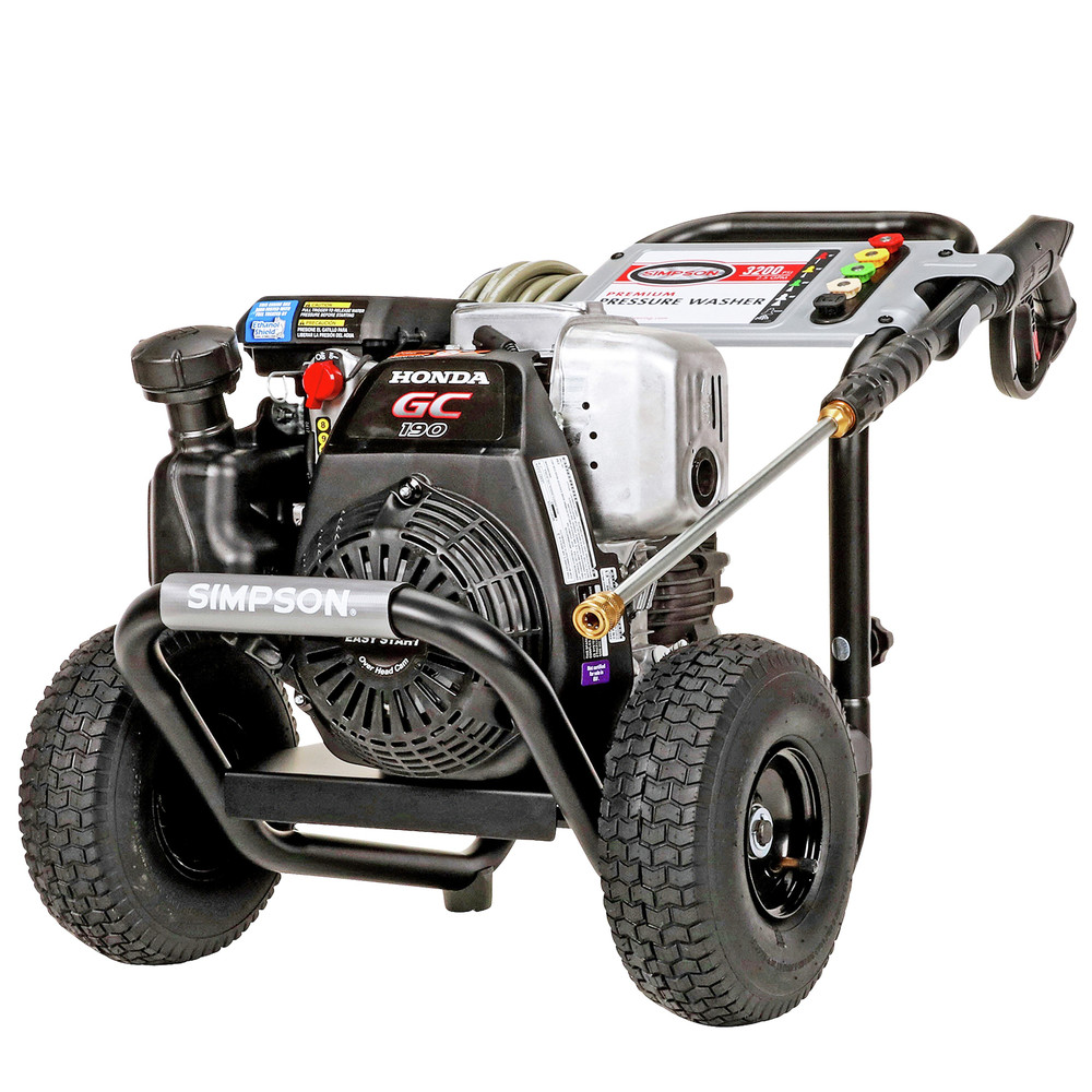 Simpson MSH3125-S 3200 PSI 2.5 GPM Gas Pressure Washer 60551 New