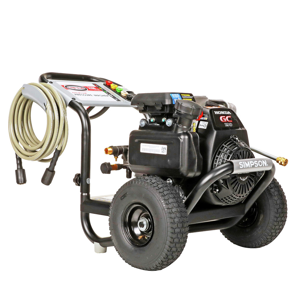 thumbnail 2 - Simpson MSH3125-S 3200 PSI 2.5 GPM Gas Pressure Washer 60551 New