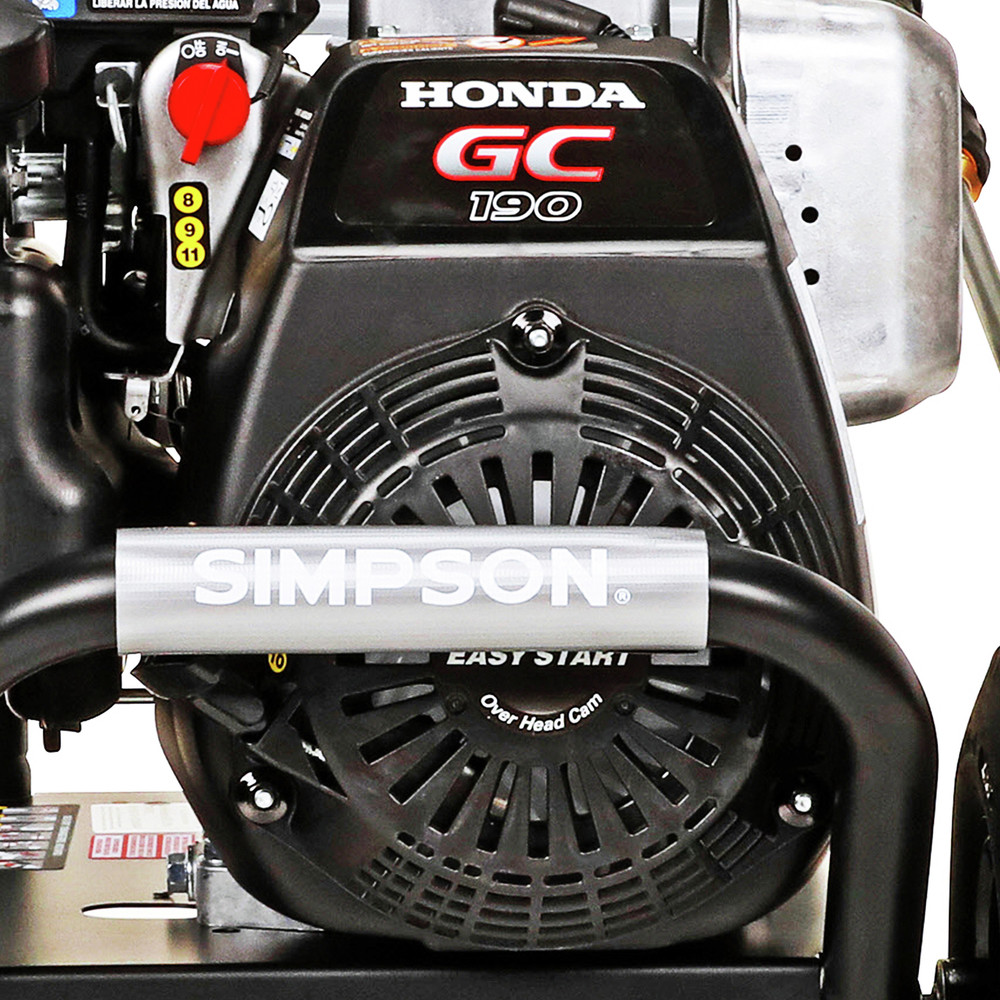 thumbnail 5 - Simpson MSH3125-S 3200 PSI 2.5 GPM Gas Pressure Washer 60551 New