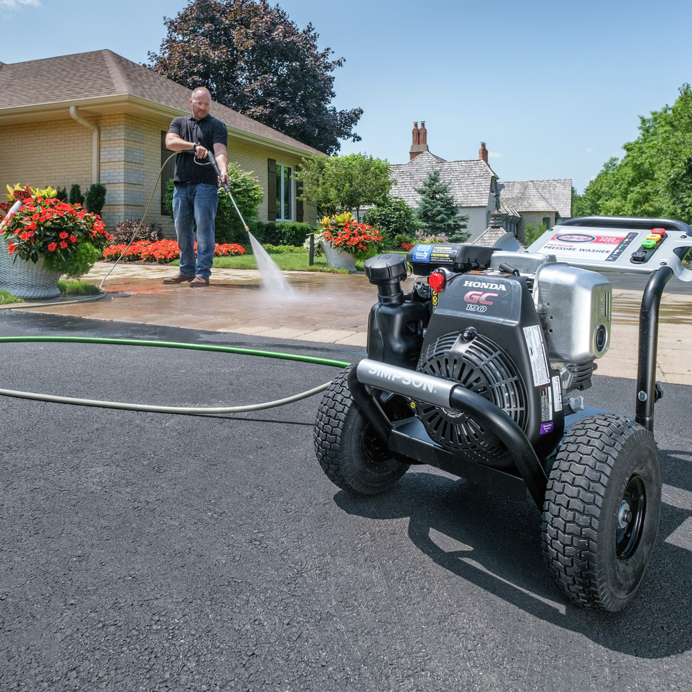 thumbnail 8 - Simpson MSH3125-S 3200 PSI 2.5 GPM Gas Pressure Washer 60551 New