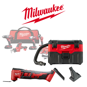 Get 2 FREE Milwaukee M18 Bare Tools or Battery