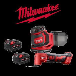 FREE Milwaukee M18 Bare Tool or Speaker