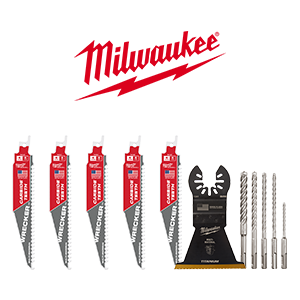$50 off $200 on select Milwaukee Accessories