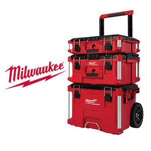 $30 off exclusive Milwaukee PACKOUT 3 Piece Kit!