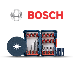 $5 off $25 on Bosch Power Tool Accessories!
