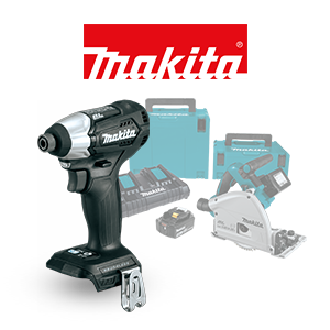 FREE Makita Guide Rail & Impact Wrench