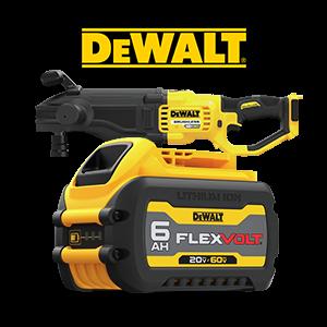FREE DeWALT FLEXVOLT 6 Ah Battery