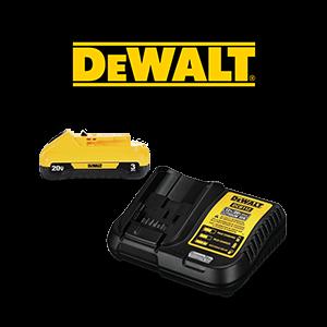FREE DEWALT 20V MAX Battery & Charger Kit
