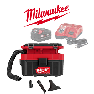 FREE Milwaukee PACKOUT Wet/Dry Vacuum