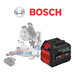 FREE Bosch CORE18V 12 Ah PROFACTOR Battery