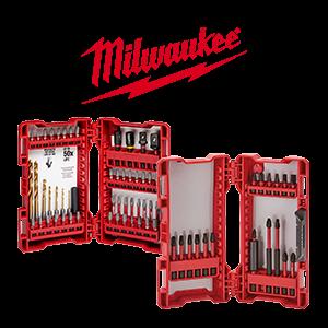 FREE Milwaukee SHOCKWAVE 18-Piece Bit Set