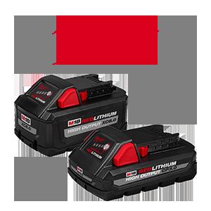 FREE Milwaukee M18 3 Ah Battery