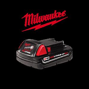 FREE Milwaukee M18 2.0 Ah Battery