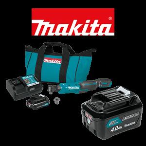 FREE Makita 12V MAX CXT 4 Ah Battery