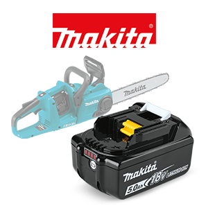 FREE Makita 18V LXT 5 Ah Battery