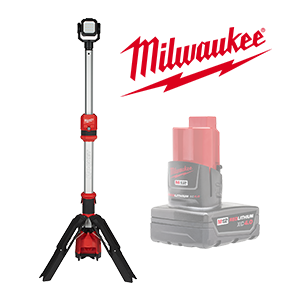 FREE Milwaukee M12 4.0 Ah Battery