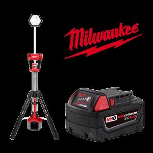 FREE Milwaukee M18 Battery