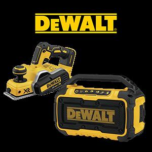 FREE DeWALT 20V MAX Impact Driver, Speaker or Battery