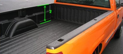 truck bed rail dent repair