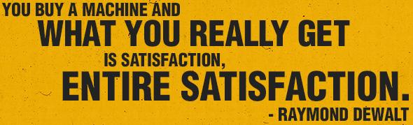 ENTIRE SATISFACTION