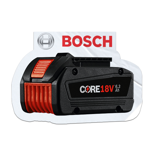 Free Bosch CORE18V battery when you purchase a qualifying Bosch 18V tool