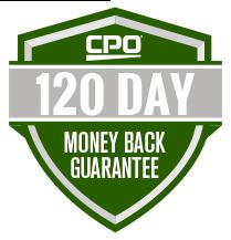 CPO 60 Day Money Back Guarantee