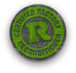 Certified Factory Reconditioned Badge