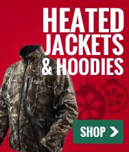 Heated Jackets and Hoodies