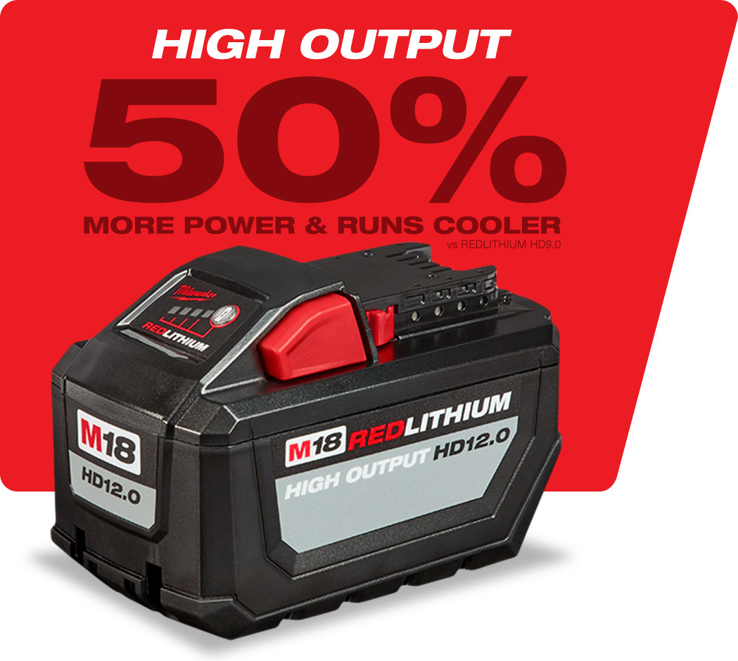 Milwaukee High Output HD 12.0 Battery
