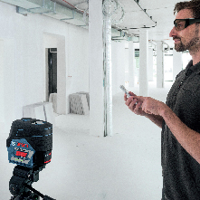 Bosch Leveling Remote App