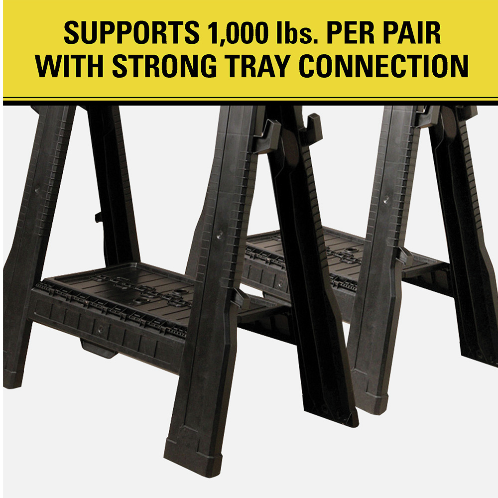Supports 1000 lbs.