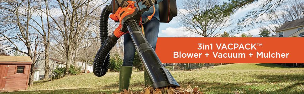 3in1 vackpack blower+vacuum+mulcher