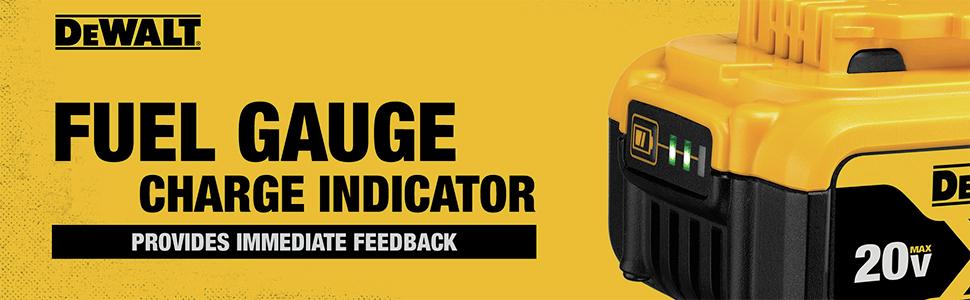 Fuel Gauge Charge Indicator