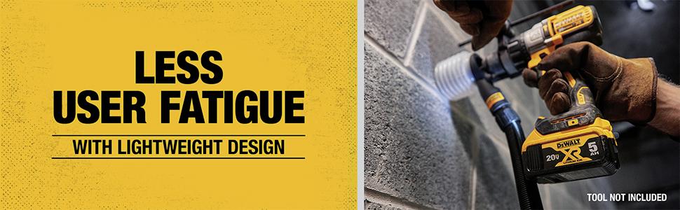 Less User Fatigue with Lightweight Design
