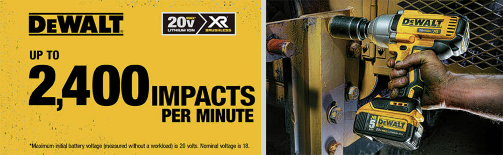 Up to 2,400 impacts per minute