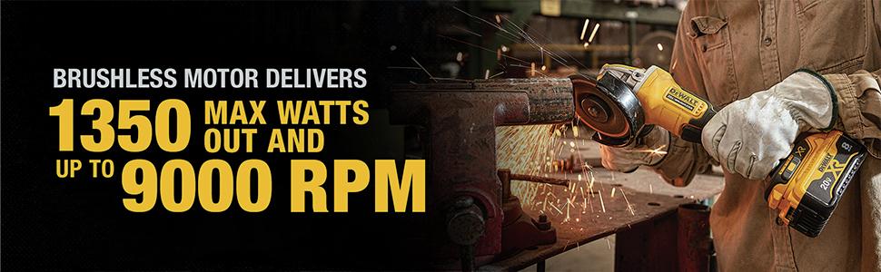 Brushless Motor Delivers