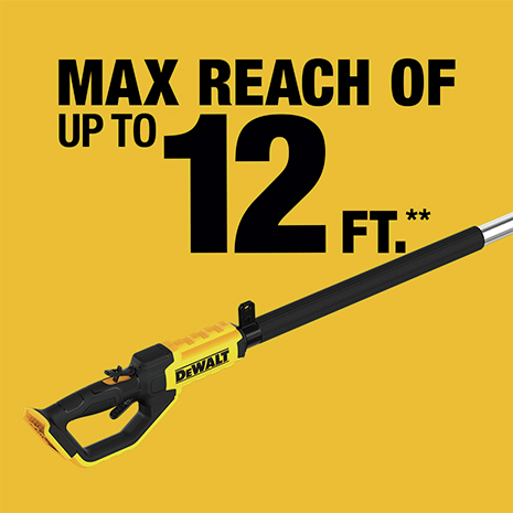 Max Reach Of Up To 12 ft.