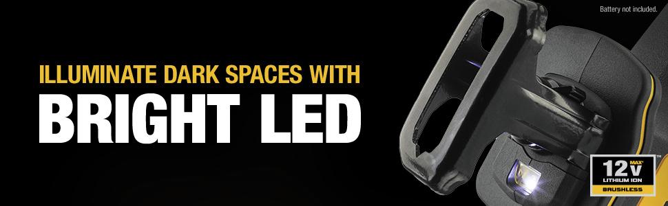 Illuminate Dark Spaces with Bright LED