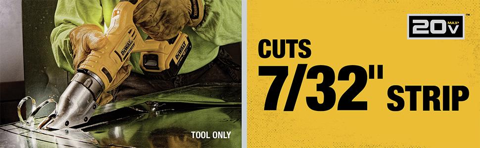 Cuts 7/32 in. Strip