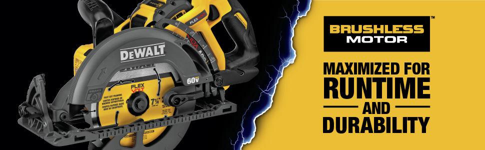 Brushless motor for maximum runtime and durability