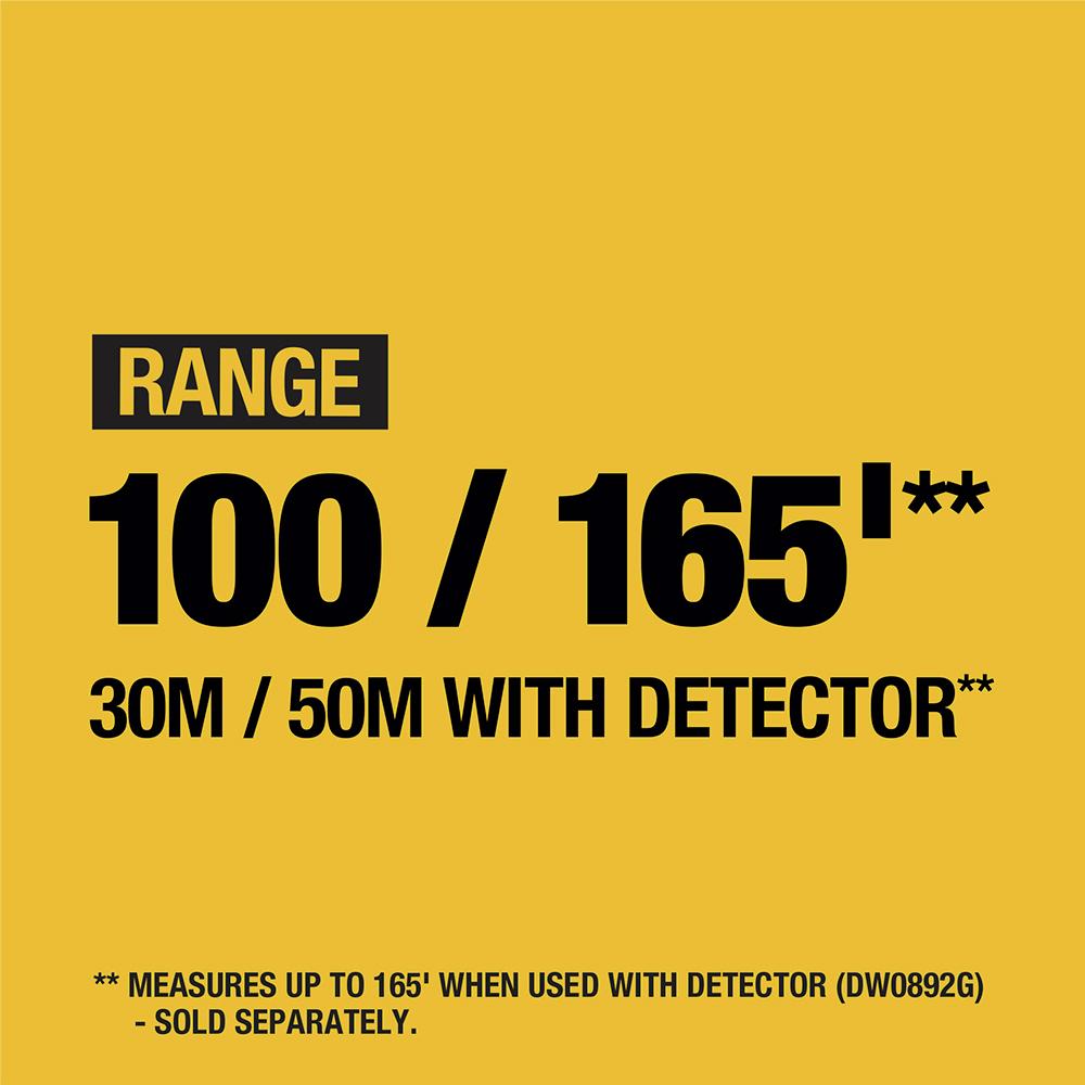 Range 100/165 ft.