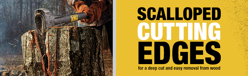 Scalloped Cutting Edges