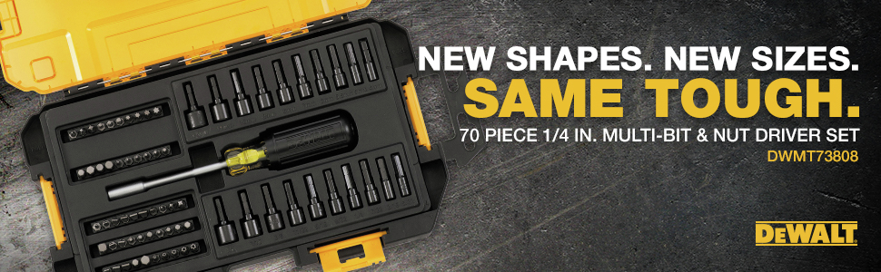 New Shapes. New Sizes.