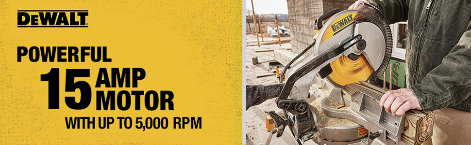 Powerful 15 Amp Motor