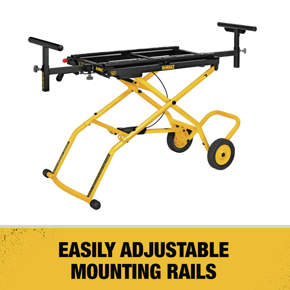 Easily Adjustable Mounting Rails