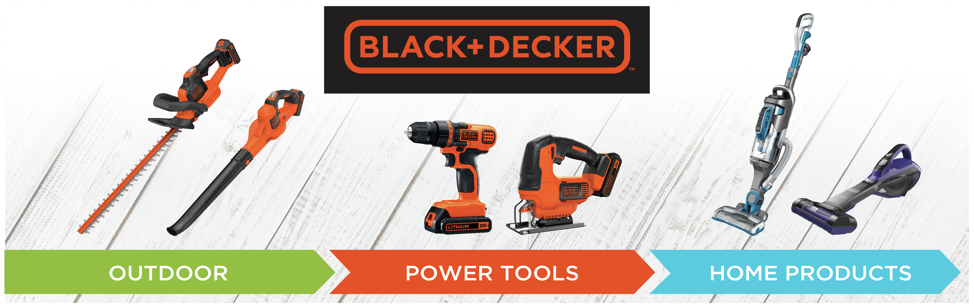 Outdoor, Powertools, Home Products