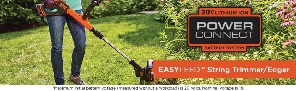 Easyfeed string trimmer/edger