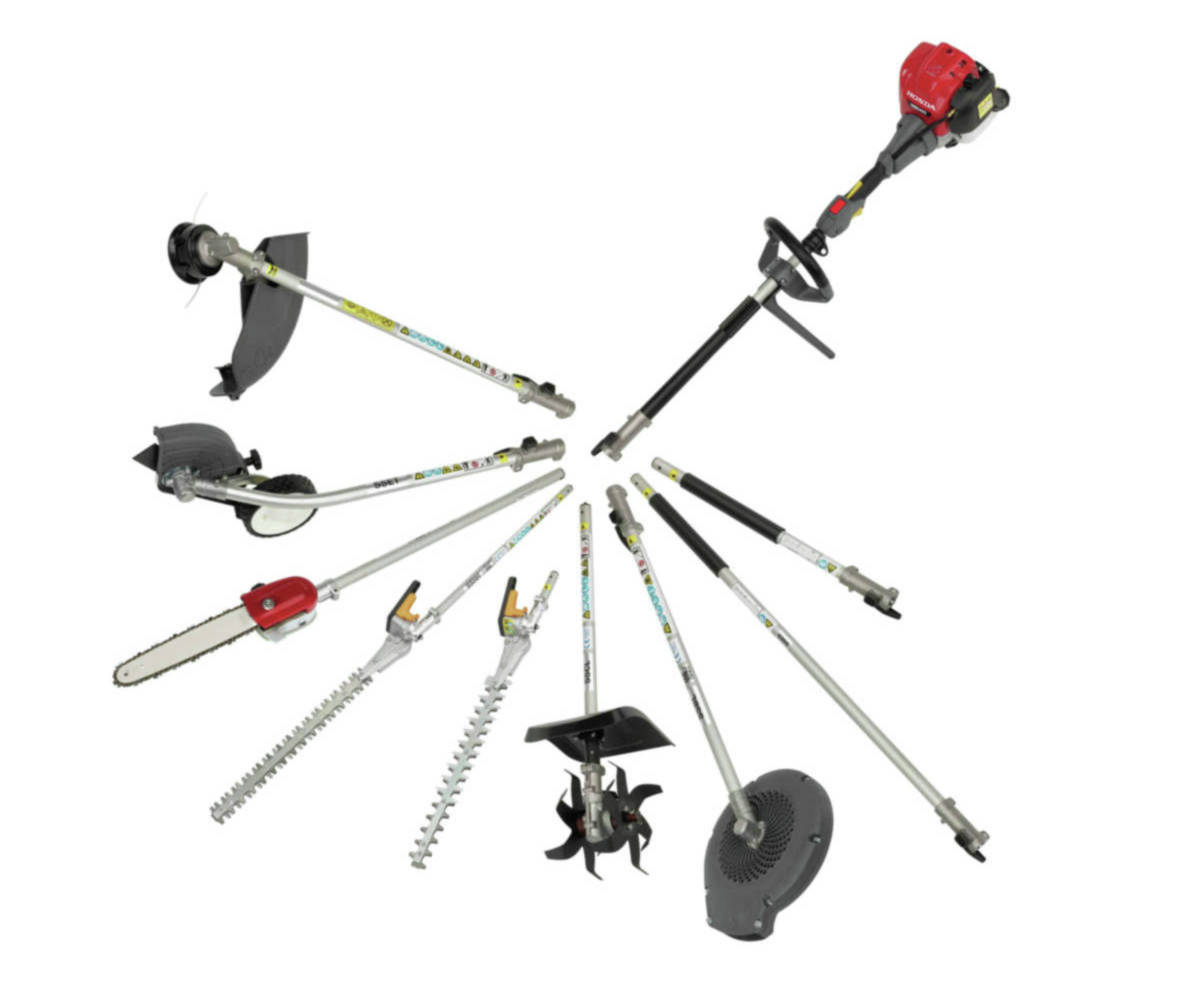 VersAttach Power Head with optional attachments